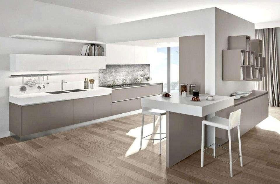 Cucina Carrera Moderna Bicolore Di Veneta Cucine Per Cucine Cucina ...